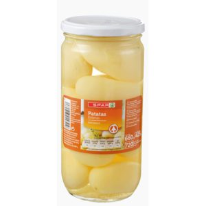 PATATA ENTERA SPAR FCO. 720 ML