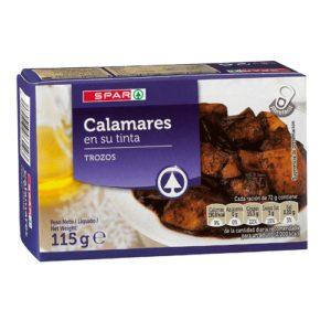 CALAMARES TINTA SPAR