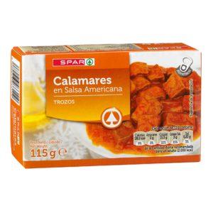 CALAMARES SALSA AMERICANA SPAR