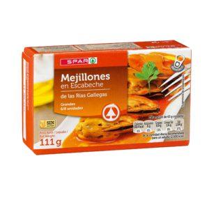 MEJILLONES ESCABECHE 6/8 111 G.