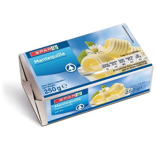 Mantequilla, Margarina y Nata