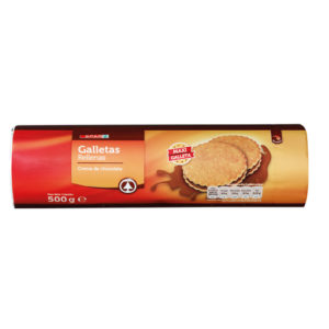 GALLETA RELLENA CHOCOLATE 500 GR