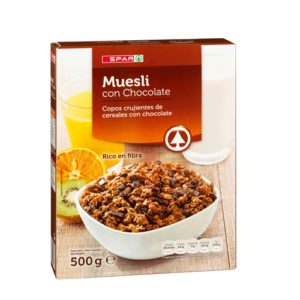 MUESLI CON CHOCOLATE SPAR