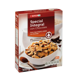 SPECIAL INTEGRAL CON CHOCOLATE SPAR