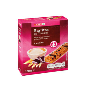 BARRITAS CEREALES INTEGRALES ARROZ Y TRIGO SPAR
