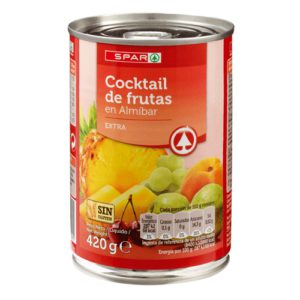 COCKTAIL DE  FRUTA SPAR