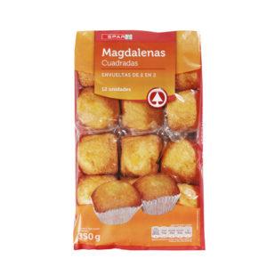 MAGDALENAS CUADRADAS