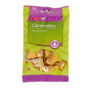 CARAMELO CREMOSO TOFFE S/AZUCAR SPAR 90 G.
