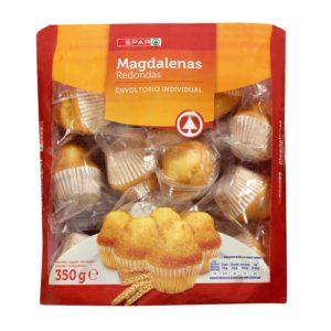 MAGDALENAS REDONDAS SPAR