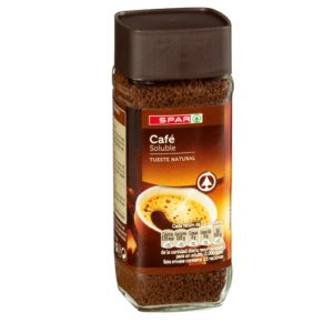 CAFÉ SOLUBLE NATURAL SPAR