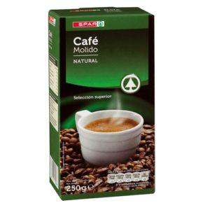 CAFÉ MOLIDO NATURAL SPAR