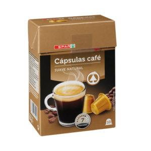 CÁPSULAS CAFÉ SUAVE NATURAL 10 uds.