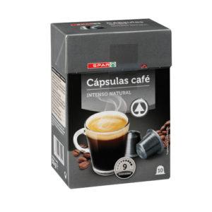 CÁPSULAS CAFÉ INTENSO SPAR 10 uds.
