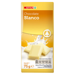 CHOCOLATE BLANCO SPAR