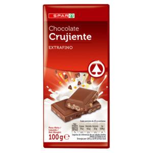CHOCOLATE EXTRAFINO CRUJIENTE SPAR