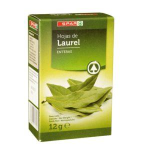 HOJAS DE LAUREL SPAR ESTUCHE 12 G.