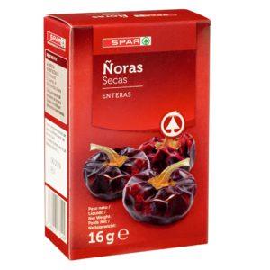 ÑORAS SECAS SPAR ESTUCHE 16 G.