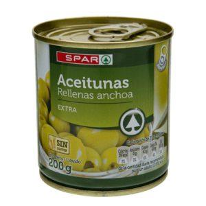 ACEITUNAS RELLENAS SPAR
