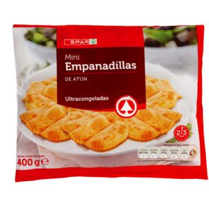 MINI EMPANADILLAS DE BONITO SPAR 400 G.