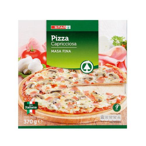 Pizzas y bases para pizzas