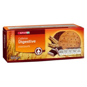 GALLETA DIGESTIVE CHOCOLATE SPAR
