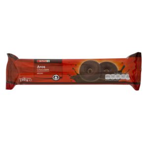 GALLETA ARO CON CHOCOLATE NEGRO SPAR