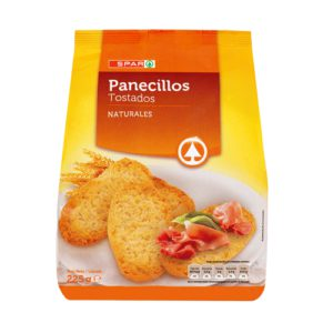 PANECILLOS NATURALES SPAR