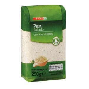 PAN RALLADO AJO Y PEREJIL 250 gr