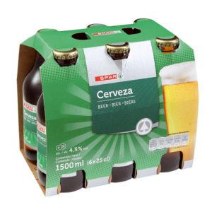 CERVEZA CON ALCOHOL SPAR