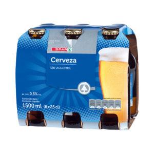 CERVEZA SIN ALCOHOL SPAR