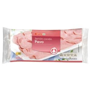 JAMÓN COCIDO DE PAVO SPAR 400 G.