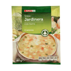 SOPA JARDINERA SPAR