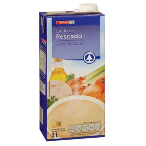 CALDO DE PESCADO SPAR BRIK 1 L.