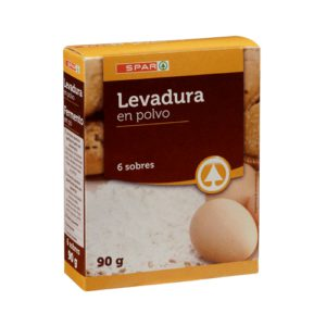 LEVADURA EN POLVO SPAR 90 G.