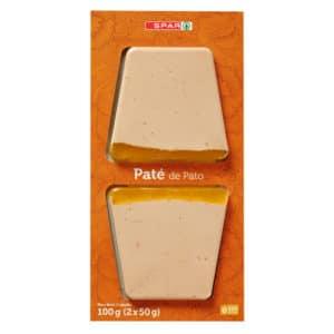 PATÉ DE PATO SPAR 2X50 G.