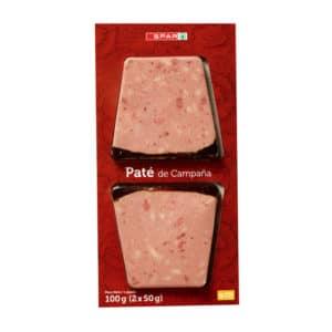 PATÉ CAMPAÑA SPAR 2X50 G.