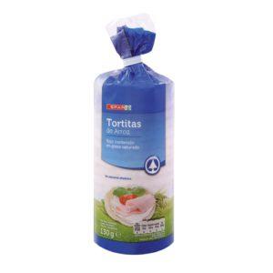 TORTITAS DE ARROZ CON SAL SPAR