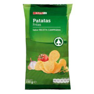 Patatas fritas, cortezas y otros fritos