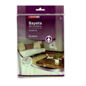 BAYETA MICROFIBRA  ESPECIAL MUEBLES SPAR