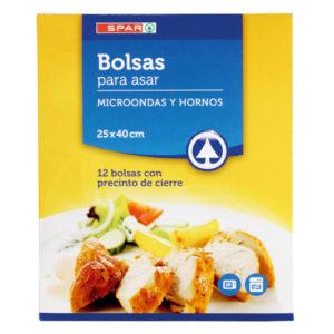 BOLSAS HORNO Y MICROONDAS SPAR 12 UND.