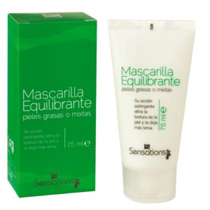 MASCARILLA FACIAL EQUILIBRANTE SENSATIONS 75 ML
