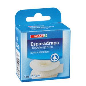 ESPARADRAPO HIPOALERGICO SPAR