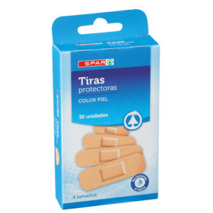 TIRITAS SURTIDAS SPAR 30 UND.