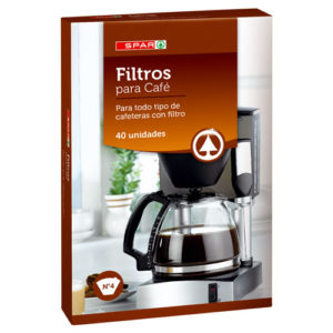 FILTROS CAFETERA SPAR Nº 4