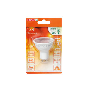 LED DICROICA 5W GU10 CALIDA