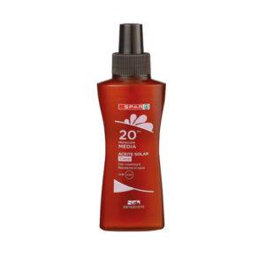 Aceite solar coco FP20 100 ml
