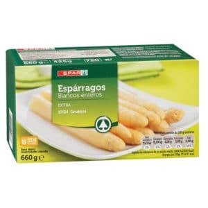Esparragos blancos Extra 17-24 660 grs