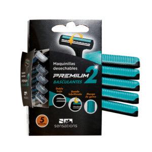 Maquinilla hombre Premium 2 basculantes