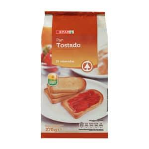 PAN TOSTADO 30 REB SPAR 270 GR