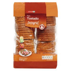 PAN TOSTADO INTEGRAL 535 GR 8480013214144